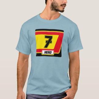 Motorrad, das T - Shirt läuft