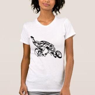 Motorrad-Fahrt Tshirts
