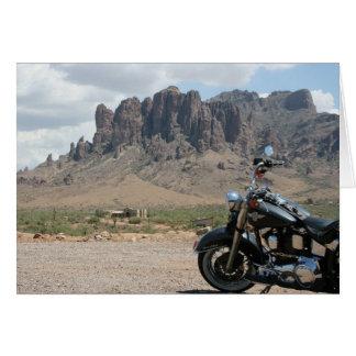 Motorrad-Geburtstags-Karte Grußkarte