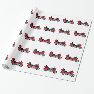 Motorrad Geschenkpapier