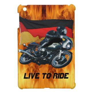 Motorrad-Power-Radfahrer-Transport-Geschenk iPad Mini Hülle