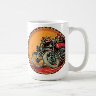 Motorrad-Rennläufer Kaffeetasse