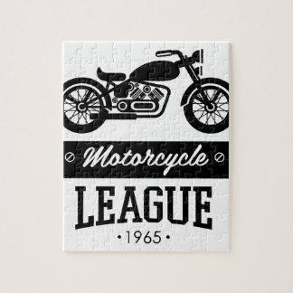 Motorrad-Sammlungslogos Puzzle