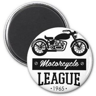 Motorrad-Sammlungslogos Runder Magnet 5,7 Cm