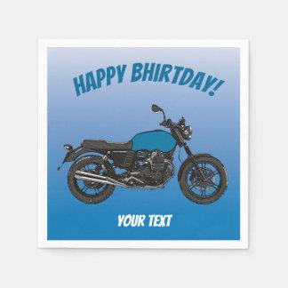 Motorrad Serviette