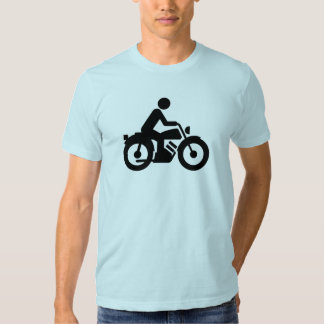 Motorrad-Silhouette T-shirt