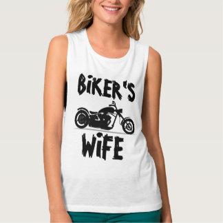 Motorrad-T - Shirts die EHEFRAU des RADFAHRERS