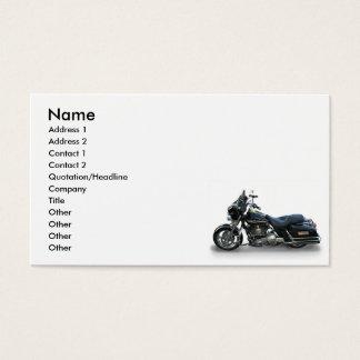 Motorrad Visitenkarte
