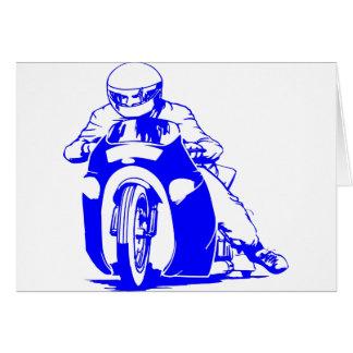Motorrad-Widerstand-Laufen Karte