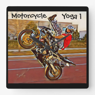 Motorrad-Yoga 1 Uhr