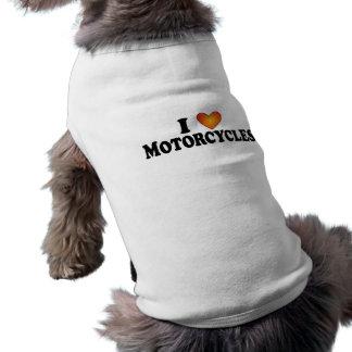 Motorräder I (Herz) - HundeT - Shirt