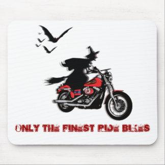 Motorradreithexe mousepads - fertigen Sie besonder