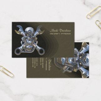 Motorradverkäufe + reparieren Sie businesscards Visitenkarte