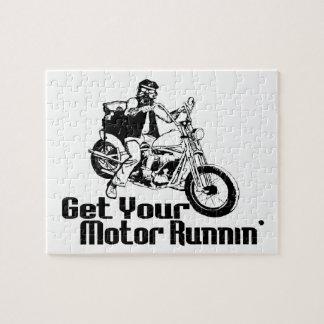 MotorRunnin Motorrad Puzzle