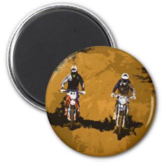 Motorsport Runder Magnet 5,1 Cm