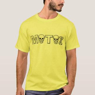 MotoX Schädel-Schmutz-Fahrradmotocross-Shirt T-Shirt