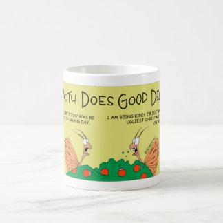 Motte tut eine gute Tat Kaffeetasse