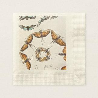 Motten ein Zeichen des Sommers Serviette