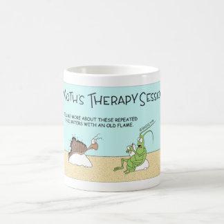 Motten-Therapie Kaffeetasse