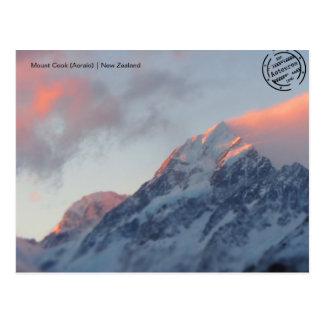 Mount Cook (Aoraki) (Neuseeland) Postkarte