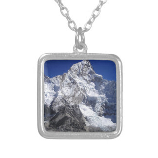 Mount Everest 2 Versilberte Kette
