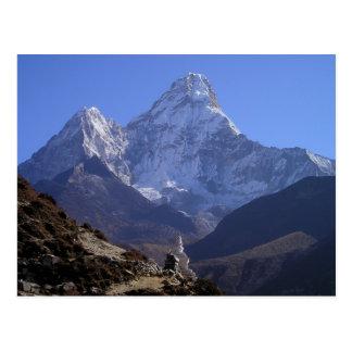 Mount Everest 4 Postkarte