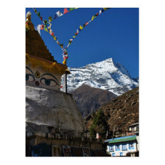 Mount Everest 8 Postkarte