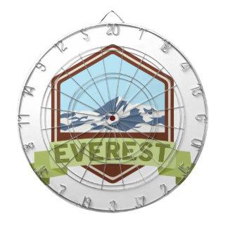 Mount Everest Dartscheibe