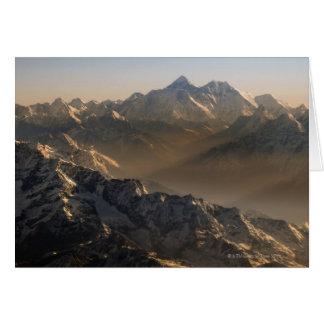 Mount Everest, Himalaja-Berge, Asien Karte