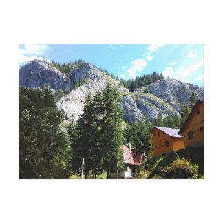 Mountain View Leinwanddruck