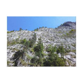 Mountain View von Bicaz Schlucht, Rumänien Leinwanddruck