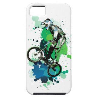 Mountainbike art iPhone 5 case