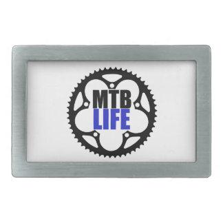Mountainbike-Leben Rechteckige Gürtelschnallen