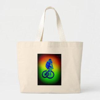 Mountainbike Llandegla mtb bmx Jumbo Stoffbeutel