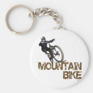 Mountainbike Standard Runder Schlüsselanhänger