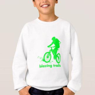 Mountainbikeentwurf Sweatshirt