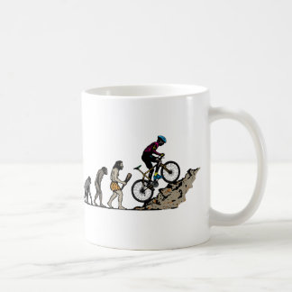 Mountainbiker Kaffee Tassen