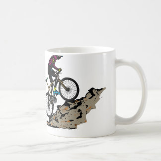 Mountainbiker Kaffeetasse