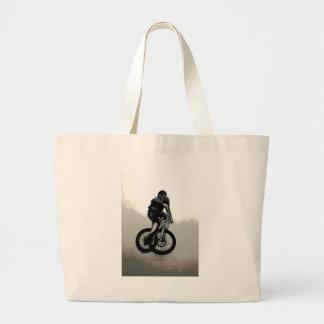 Mountainbiker MTB BMX RADFAHRER Jumbo Stoffbeutel