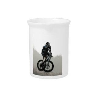 Mountainbiker MTB BMX RADFAHRER Krug