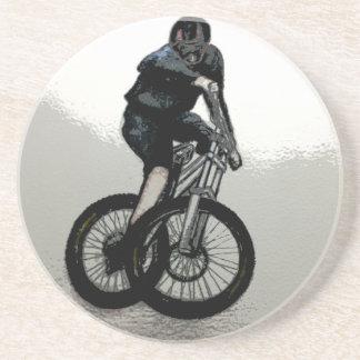 Mountainbiker MTB BMX RADFAHRER Untersetzer