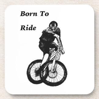 Mountainbiker MTB BMX Zyklo Kreuz RADFAHRERS Getränkeuntersetzer