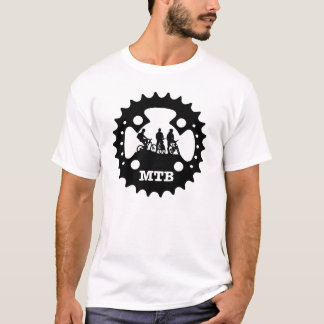 Mountainbiking (Biker, Kurbel) MTB T-Shirt