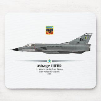 Mouse pad Mirage IIIEBR - Brasilianische Luftwaffe Mauspads