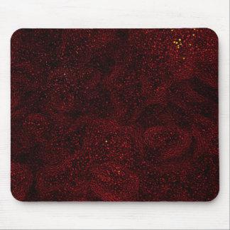Mousemat/Mausunterlage - rotes abstraktes Mauspad
