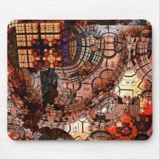 Mousepad 3D Fraktal - Mandelbulb - Sven Fauth
