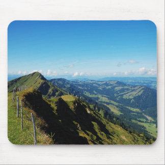 Mousepad Alpen bei Oberstaufen im Allgäu