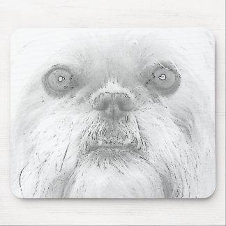 Mousepad Brüssel Griffon Hund Ewok