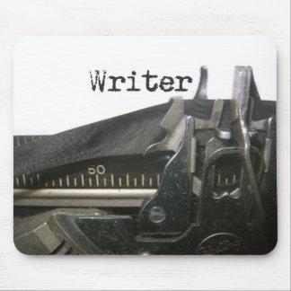 mousepad die Schreibmaschine des Verfassers