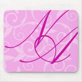 Mousepad - Girly Strudel-Monogramm